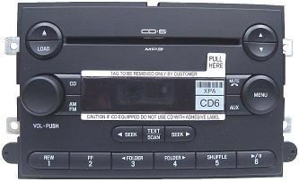 Five Hundred Montego 2007+ CD6 MP3 radio 7G1T-18C815-EA NEW