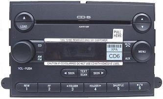 F150 Mark LT 2004-06 CD6 MP3 radio 6L3T-18C815-FF *NEW*