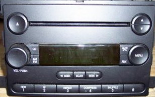 Ford/Lincoln/Mercury radio CD MP3 drive replacement repair 2004+