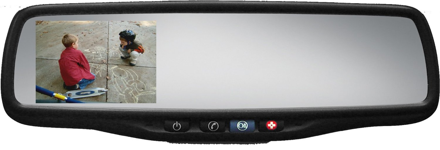Gm Onstar Compatible Rear View Mirror 3 5 Inch Lcd Monitor