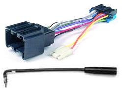 GM Wiring Adapter: 89+ 20-pin radio to pre-89 12-pin car
