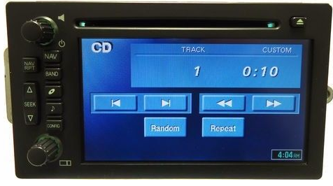 GM 2003+ Truck/SUV Bose Non-Lux TNR Touchscreen Navigation radio 15229287 REMAN