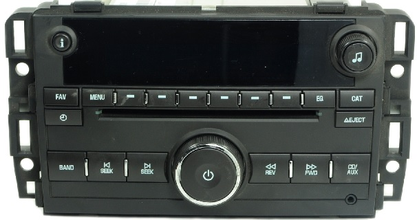 acadia traverse enclave  cd mp usb xm rdy radio
