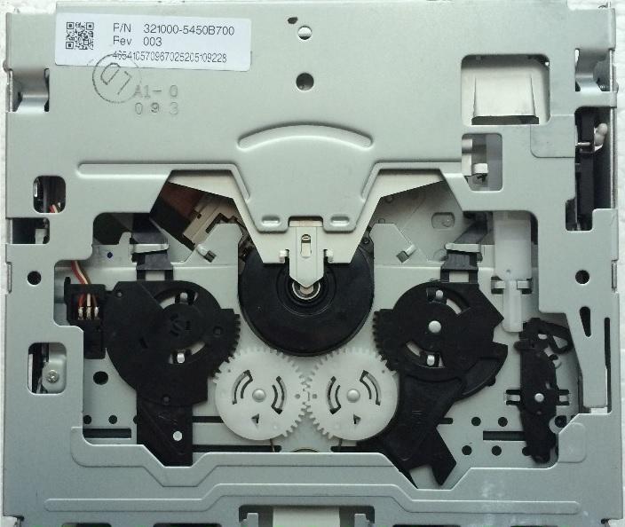 2010 Fujitsu Ten Radio Cd Mp3 Drive Mechanism Mech
