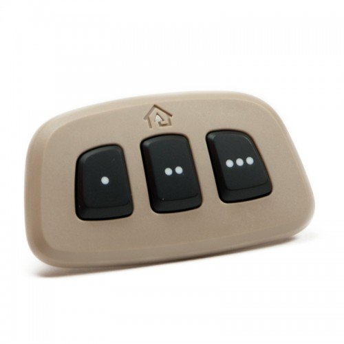 Homelink Universal Vehicle Garage Door Opener Tan