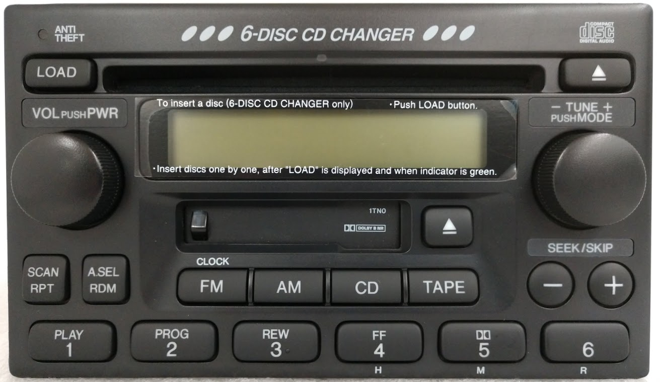 New Century Dodge >> CRV 1999-2003 CD6 Cassette radio A200 1TN1 NEW