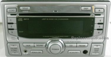 Honda 1998+ CD6 MP3 radio w/ front aux 39100-S5P-A91M1 *NEW*