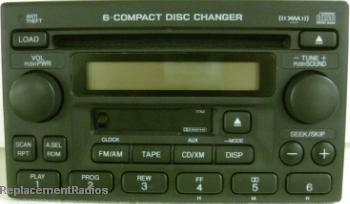 Crv 2005 2006 Cd6 Cassette Xm Radio A600 1tn2 New