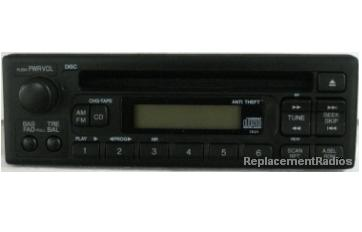 Honda Odyssey 1999-2004 CD radio 39100-S0X-A400 1XU1 *NEW*