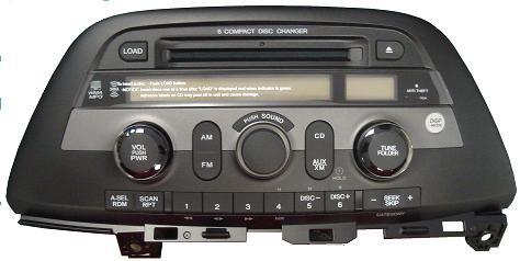 Honda Odyssey Shj A Cd Radio Xua