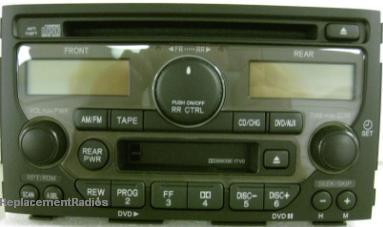 pilot   cd cassette dvd radio  tv