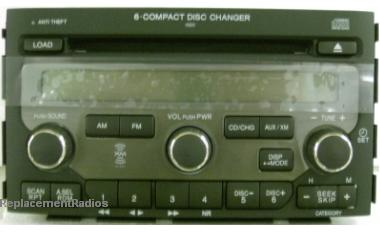 Pilot 2006+ CD6 XM ready radio 39100-S9V-A510 1BV4 *NEW*