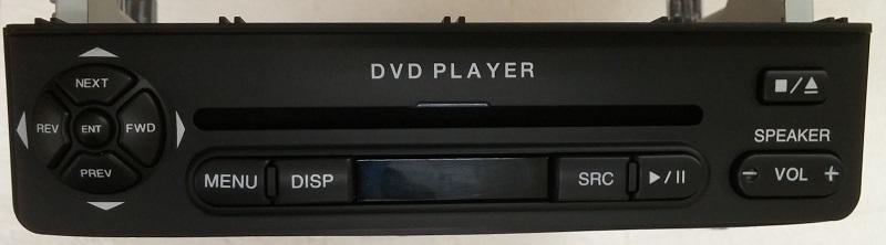 Kia Sedona 2006 Gray Dvd Lcd Rear Entertainment System New