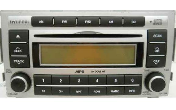 Santa fe 2007 2008 cd mp3 xm rdy radio 96100 0w001 click to enlarge cheapraybanclubmaster Choice Image