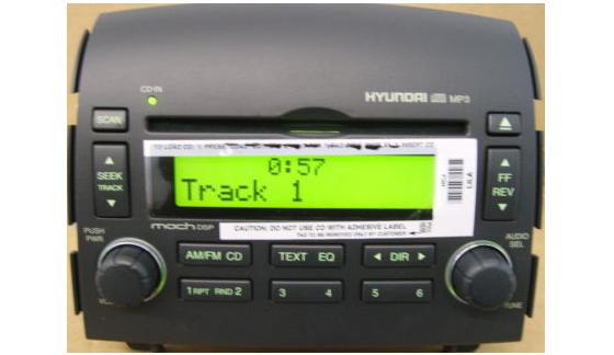 Sonata 2006 2008 Cd Mp3 Radio 96180 0a 100fz New