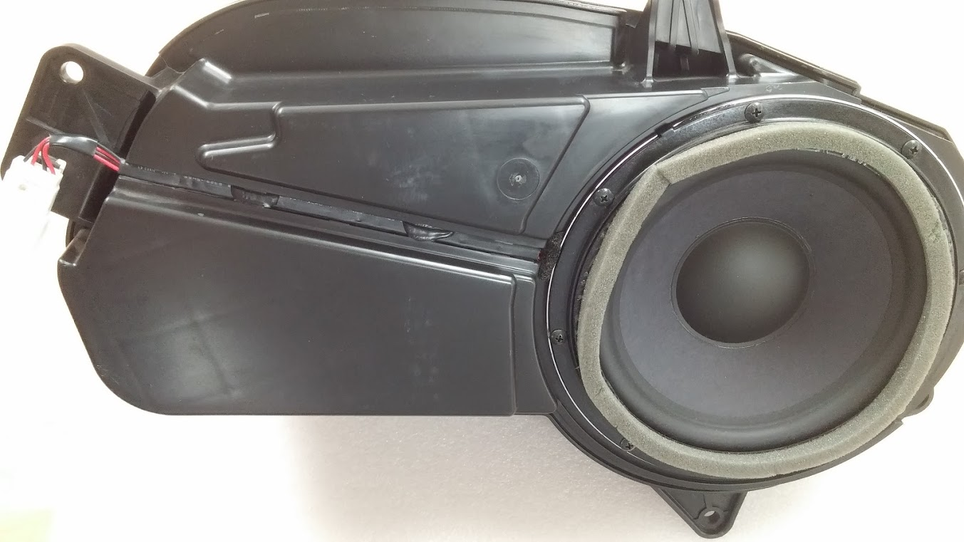 Hyundai Santa Fe 2006-2009 original subwoofer with ...