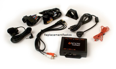 2006+ GM 11-bit radio Bluetooth phone kit +iPod/USB Interface