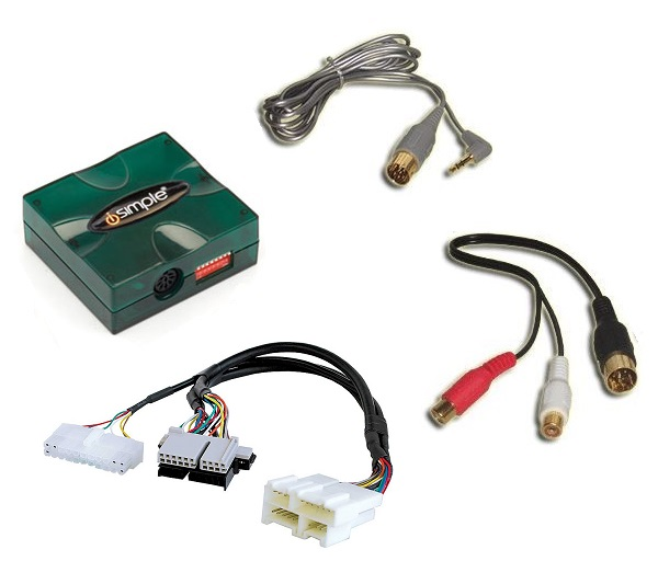 1997+ Corvette radio Auxiliary Audio Input Adapter (Sound only)