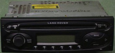 Freelander/Discovery 2002+ CD radio