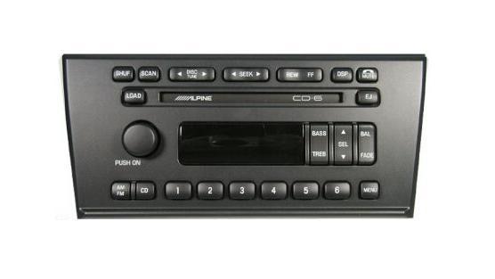 YW4F-18C815-BC Lincoln LS 2002 CD6 Alpine Audiophile radio