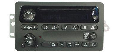 S10/S15/Sonoma/Blazer/Jimmy 2002-2003 CD radio