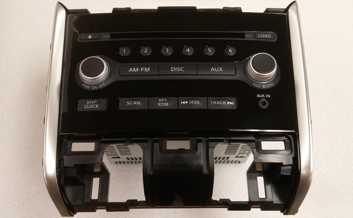 Pathfinder 2013-2015 MP3 CD6 SAT radio with Aux Input NEW