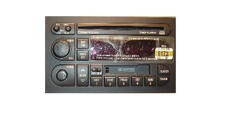 Oldsmobile 1994-2000 CD Cassette radio 09376173 *REMAN*