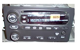 22716675 Alero Intrigue 2002 2004 CD U1P radio 10317993