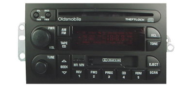 Oldsmobile 1994-2000 CD Cassette radio