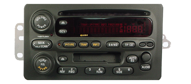 Alero Intrigue 2002-2004 CD cassette radio
