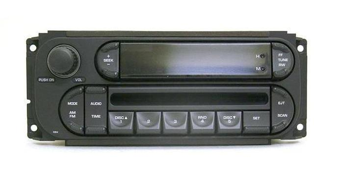 Chrysler 1998-2007 CD radio (revised RBK) Dodge Jeep *NEW*