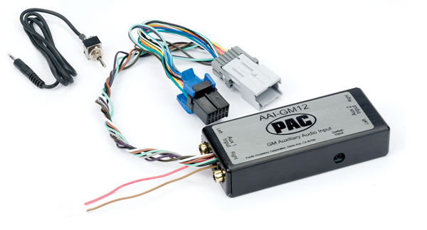 2000+ GM Radio Dual Aux Audio Input Adapter Peripheral PXGM12