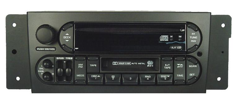 Pacifica 2004-2007 CD Cassette radio RBP