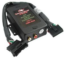 1995+ GM Radio Auxiliary Input Adapter: PIE GM9-AUX (RCA)