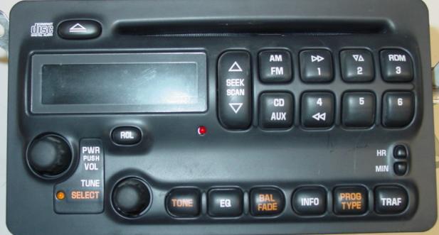 Pontiac Vibe 20042006 Radio Am Fm Cd Player W Auxiliary Input