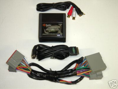 2006+ Ford radio iPod Interface +Aux: Peripheral PXAMG PGHFD1