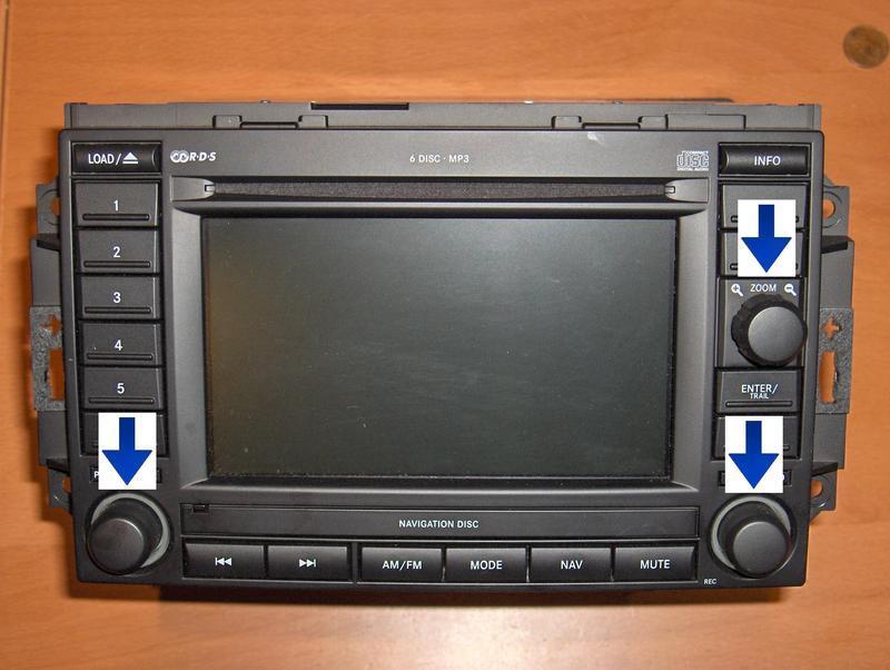chrysler dodge jeep rec navigation nav radio joystick repair rh replacementradios com Rec Movie 2007 Rec 2