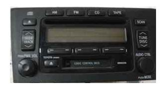 Avalon 2000-2004 CD Cassette Radio AD6804 *REMAN*