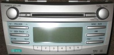 camry   cd mp wma radio    blem