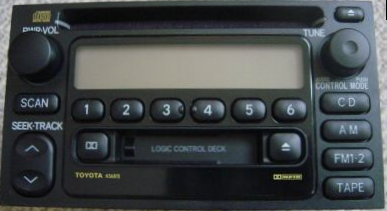 Town And Country Toyota >> Toyota 1997-2004 CD Cassette radio 16814 New w/ blems